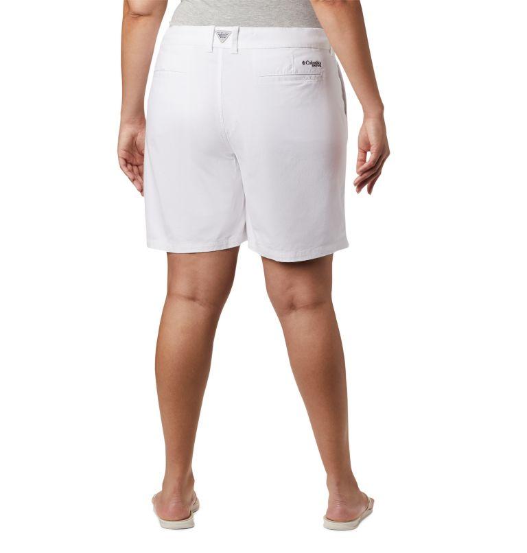 W Bonehead™ Stretch Short | 100 | 24W Women's Bonehead™ Stretch Shorts, White, back
