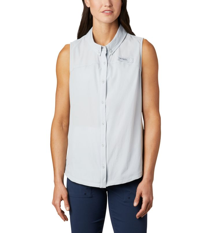Women's Coral Point™ Sleeveless Woven Shirt Women's Coral Point™ Sleeveless Woven Shirt, front