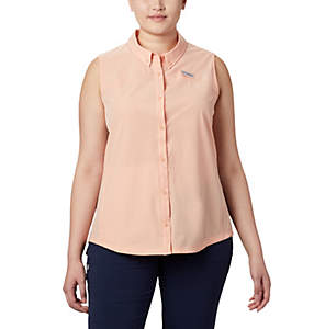 Women's Coral Point™ Sleeveless Woven Shirt – Plus Size