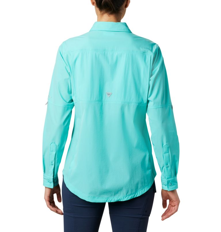 Coral Point™ LS Woven | 356 | L Women's Coral Point™ Long Sleeve Woven Shirt, Dolphin, back