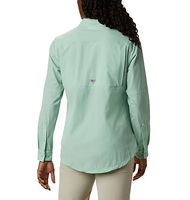 Women's Coral Point™ Long Sleeve Woven Shirt Coral Point™ LS Woven | 658 | L, New Mint, back