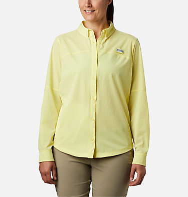 Women's Coral Point™ Long Sleeve Woven Shirt Coral Point™ LS Woven | 658 | L, Sunnyside, front