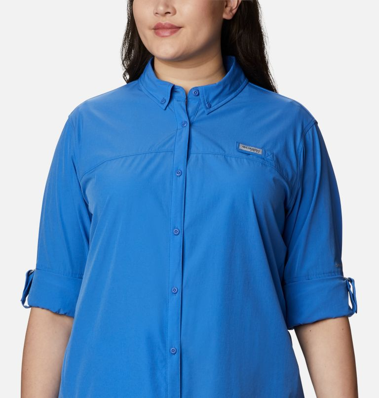 Women's Coral Point™ Long Sleeve Woven Shirt – Plus Size Women's Coral Point™ Long Sleeve Woven Shirt – Plus Size, a2