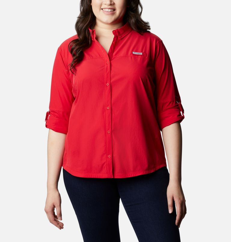 Women's Coral Point™ Long Sleeve Woven Shirt – Plus Size Women's Coral Point™ Long Sleeve Woven Shirt – Plus Size, a4