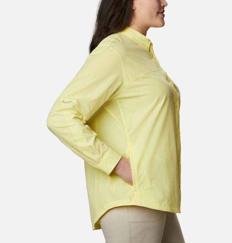 Women's Coral Point™ Long Sleeve Woven Shirt – Plus Size Women's Coral Point™ Long Sleeve Woven Shirt – Plus Size, a1