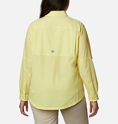 Women's Coral Point™ Long Sleeve Woven Shirt – Plus Size Coral Point™ LS Woven | 658 | 1X, Sunnyside, back