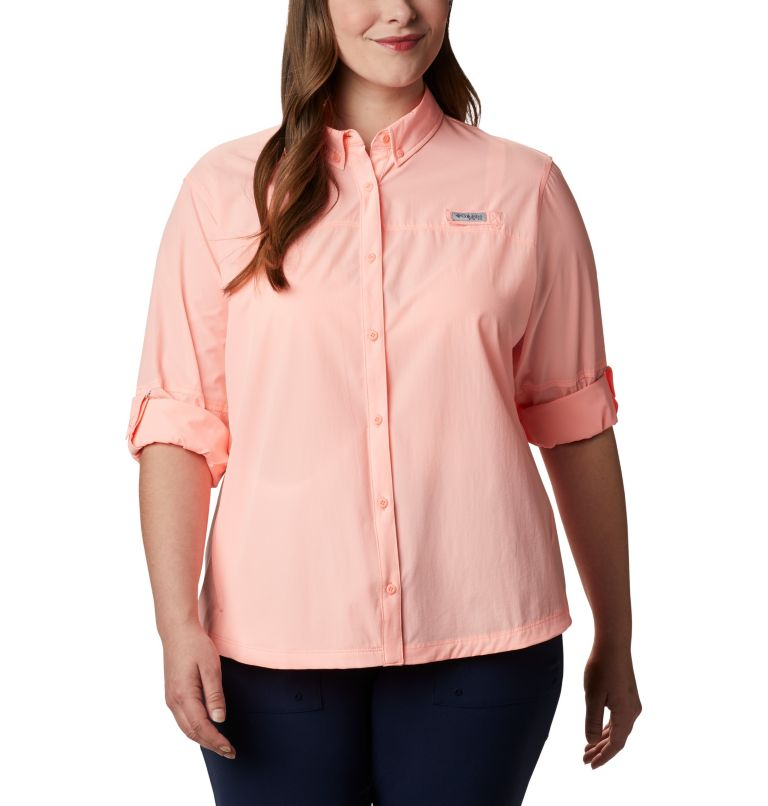 Women's Coral Point™ Long Sleeve Woven Shirt – Plus Size Women's Coral Point™ Long Sleeve Woven Shirt – Plus Size, a5