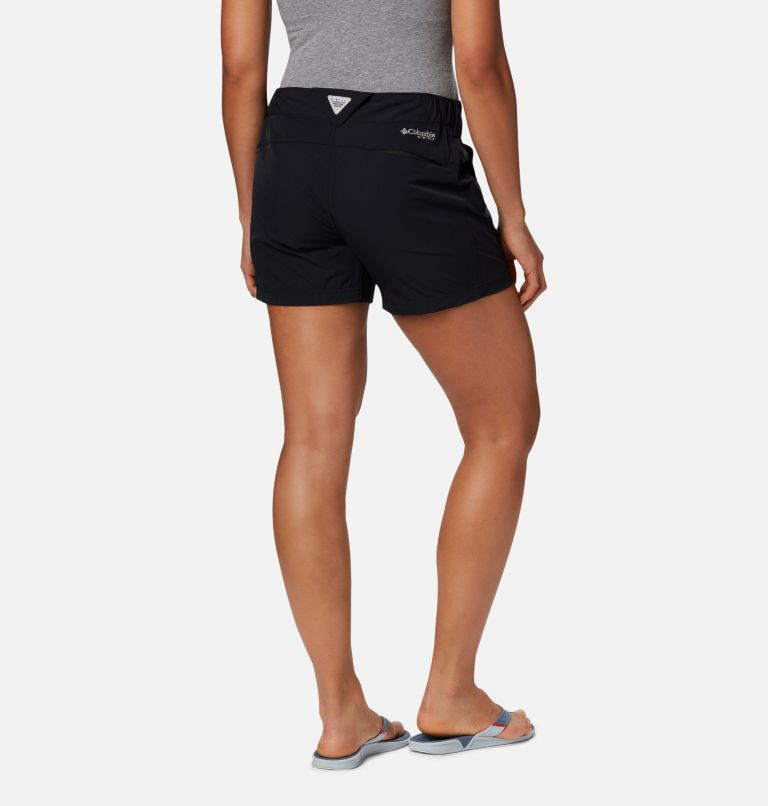Coral Point™ III Short | 010 | 16 Women's Coral Point™ III Shorts, Black, back