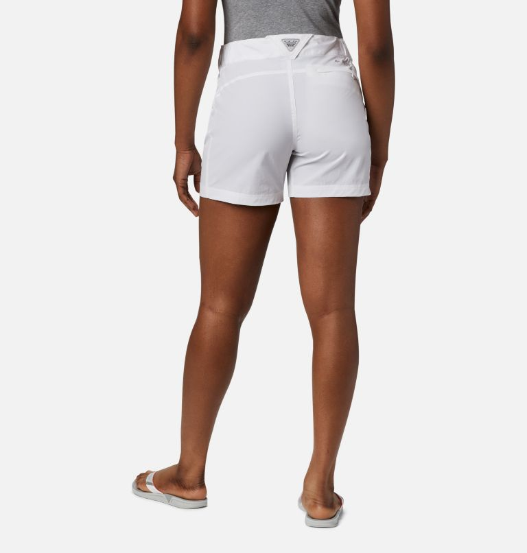 Coral Point™ III Short | 100 | 6 Women's Coral Point™ III Shorts, White, back