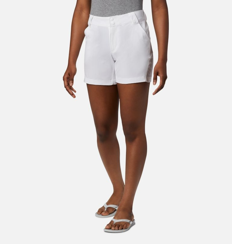 Coral Point™ III Short | 100 | 4 Women's Coral Point™ III Shorts, White, front