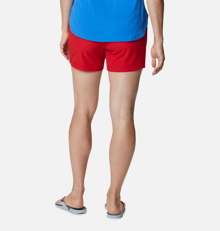 Coral Point™ III Short | 696 | 12 Women's Coral Point™ III Shorts, Red Spark, back