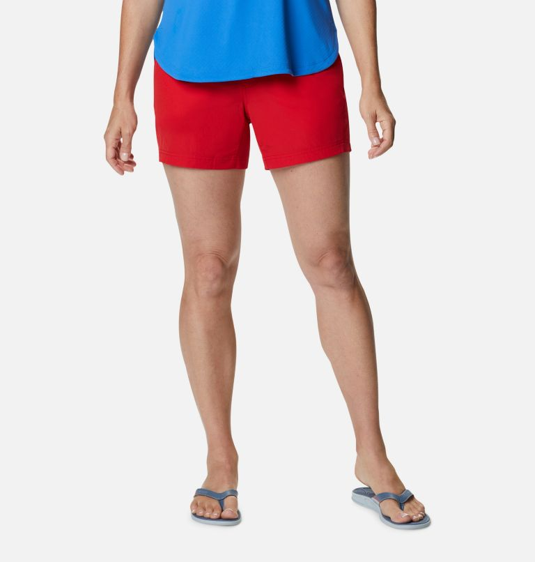 Coral Point™ III Short | 696 | 12 Women's Coral Point™ III Shorts, Red Spark, front