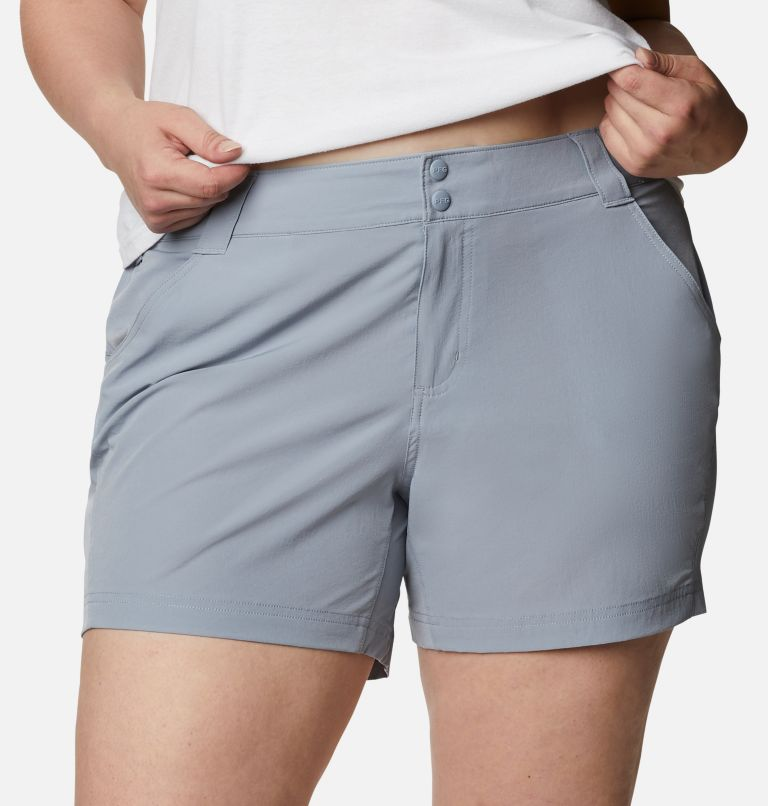 Coral Point™ III Short | 032 | 20W Women's Coral Point™ III Shorts - Plus Size, Tradewinds Grey, a2