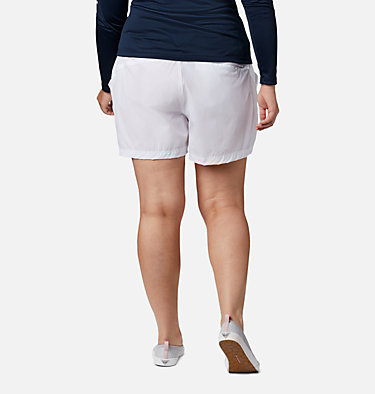 Women's Coral Point™ III Shorts - Plus Size Coral Point™ III Short | 658 | 18W, White, back