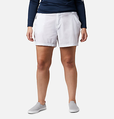 Women's Coral Point™ III Shorts - Plus Size Coral Point™ III Short | 658 | 18W, White, front