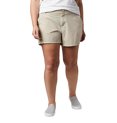 Women's Coral Point™ III Shorts - Plus Size Coral Point™ III Short | 658 | 18W, Fossil, front