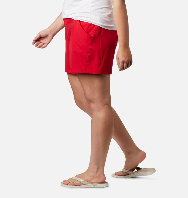 Coral Point™ III Short | 658 | 18W Women's Coral Point™ III Shorts - Plus Size, Red Lily, a1