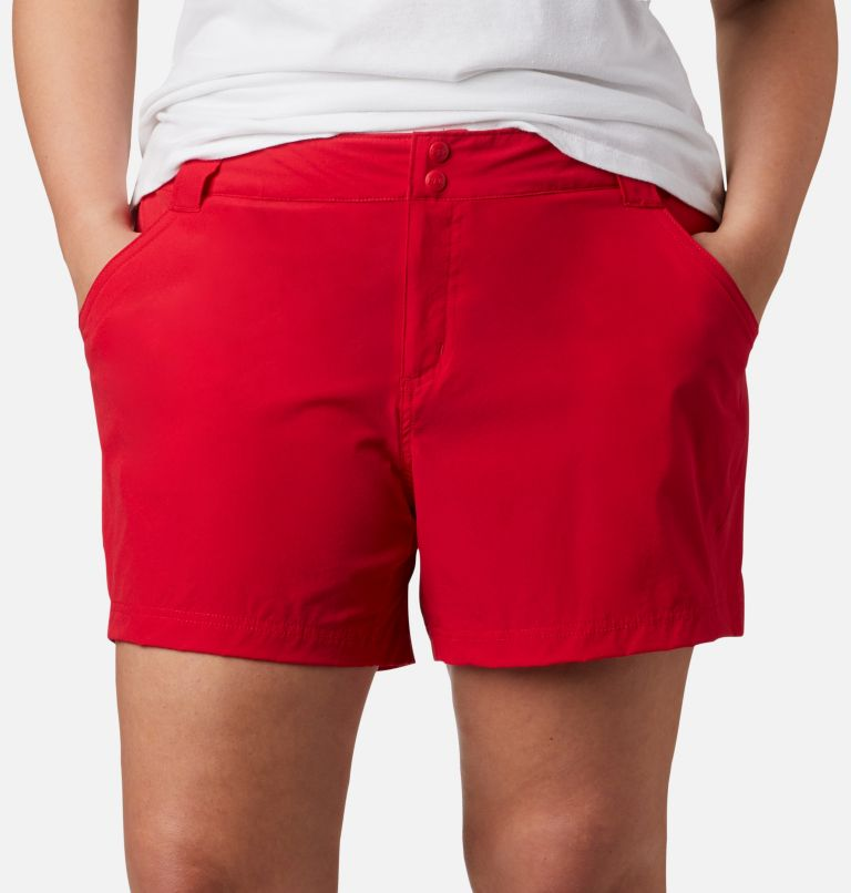 Coral Point™ III Short | 658 | 20W Women's Coral Point™ III Shorts - Plus Size, Red Lily, a2
