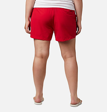 Women's Coral Point™ III Shorts - Plus Size Coral Point™ III Short | 658 | 18W, Red Lily, back