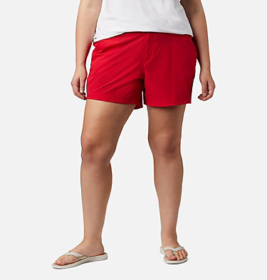 Women's Coral Point™ III Shorts - Plus Size Coral Point™ III Short | 658 | 18W, Red Lily, front