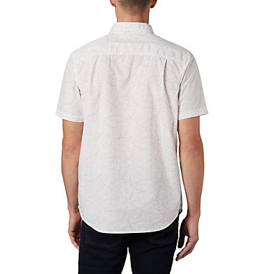 Men's Summer Chill™ Short Sleeve Shirt M Summer Chill™ SS Shirt | 427 | L, White Wispy Bamboo, back