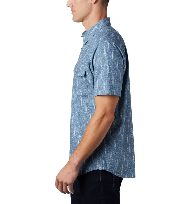 M Summer Chill™ SS Shirt | 427 | L Men's Summer Chill™ Short Sleeve Shirt, Sky Blue Trees, a1