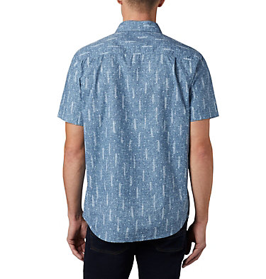 Men's Summer Chill™ Short Sleeve Shirt M Summer Chill™ SS Shirt | 427 | L, Sky Blue Trees, back