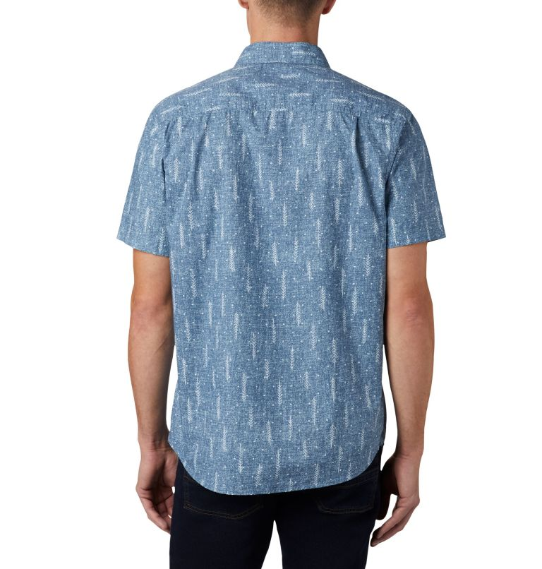 M Summer Chill™ SS Shirt | 427 | L Men's Summer Chill™ Short Sleeve Shirt, Sky Blue Trees, back