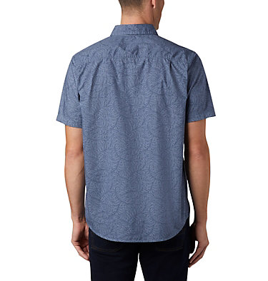 Men's Summer Chill™ Short Sleeve Shirt M Summer Chill™ SS Shirt | 427 | L, Mountain Wispy Bamboo, back