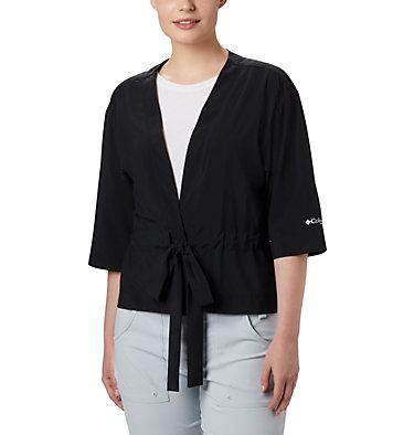 Women's PFG Armadale™ 3/4 Sleeve Wrap Armadale™ 3/4 Sleeve Wrap | 356 | L, Black, front