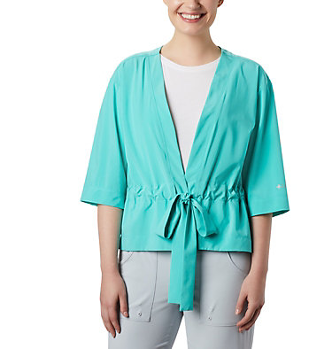 Women's PFG Armadale™ 3/4 Sleeve Wrap Armadale™ 3/4 Sleeve Wrap | 356 | L, Dolphin, front