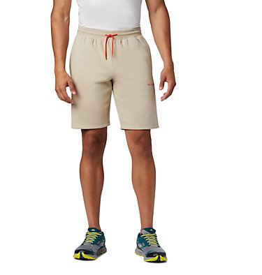 Shorts Molletonné Columbia™ Homme M Columbia™ Logo Fleece Short | 463 | S, Fossil, front