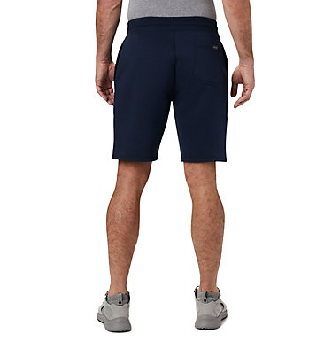 Men's Columbia™ Logo Fleece Shorts M Columbia™ Logo Fleece Short | 463 | L, Collegiate Navy, back