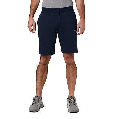 Men's Columbia™ Logo Fleece Shorts M Columbia™ Logo Fleece Short | 463 | L, Collegiate Navy, front