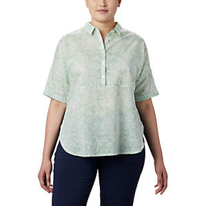 Women's PFG Sun Drifter™ 3/4 Sleeve Tunic – Plus Size