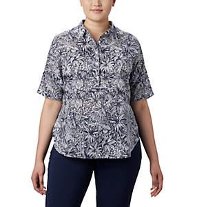 Tunique à manches 3/4 PFG Sun Drifter™ pour femme – Grandes tailles