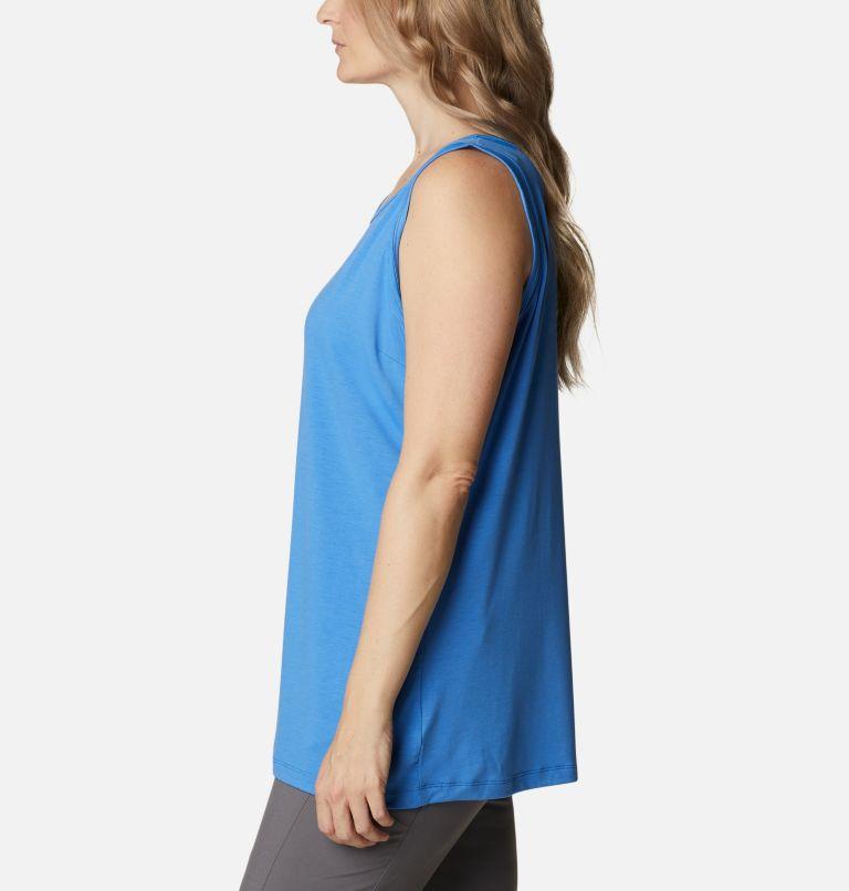 Slack Water™ Knit Tank   485   1X Women's PFG Slack Water™ Knit Tank – Plus Size, Harbor Blue, a1
