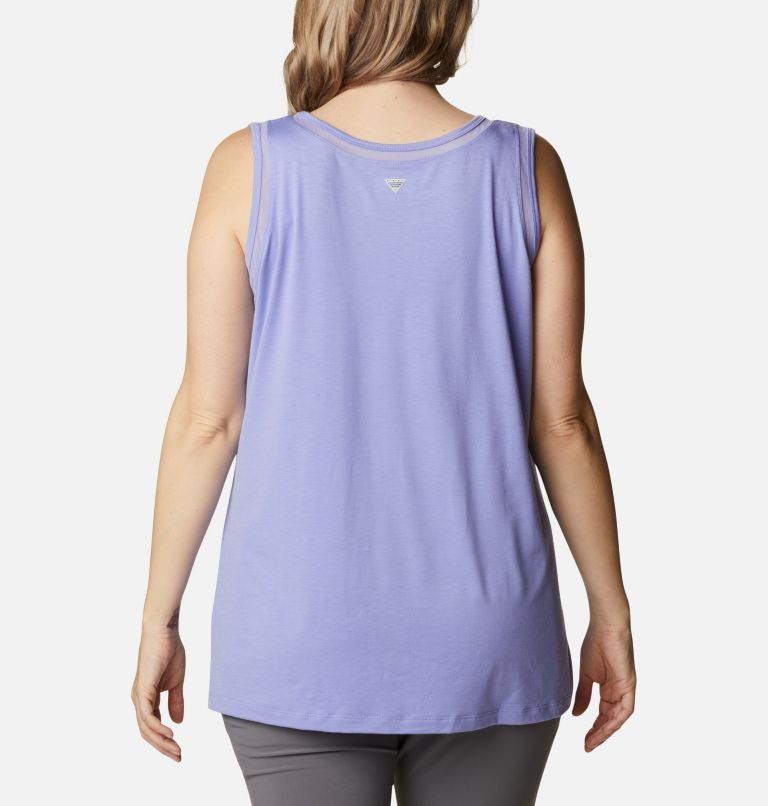 Women's PFG Slack Water™ Knit Tank – Plus Size Women's PFG Slack Water™ Knit Tank – Plus Size, back