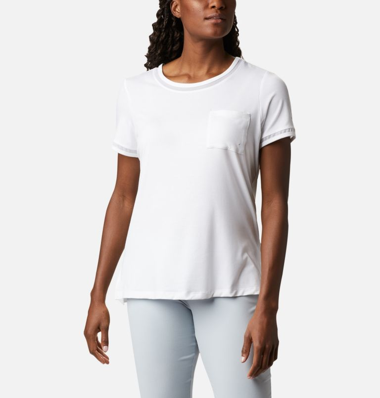 Women's PFG Slack Water™ Knit Pocket Tee Women's PFG Slack Water™ Knit Pocket Tee, front