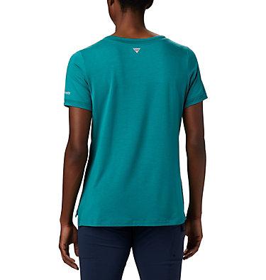 T-shirt pochette en tricot PFG Slack Water™ pour femme Slack Water™ Knit Pocket Tee | 010 | L, Waterfall, back
