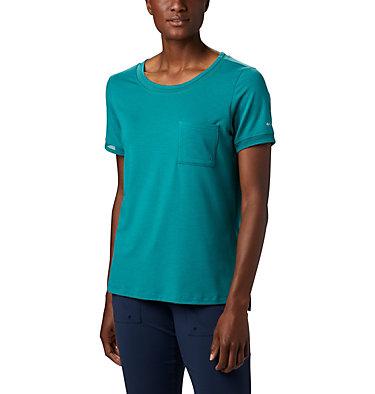 T-shirt pochette en tricot PFG Slack Water™ pour femme Slack Water™ Knit Pocket Tee | 010 | L, Waterfall, front