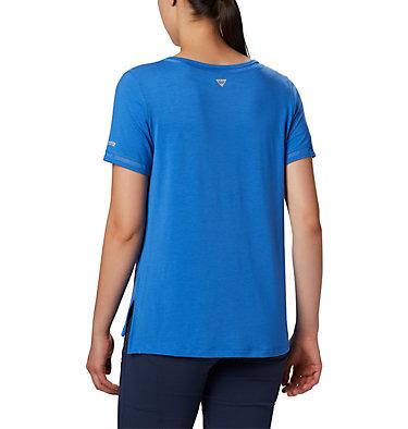 T-shirt pochette en tricot PFG Slack Water™ pour femme Slack Water™ Knit Pocket Tee | 010 | L, Stormy Blue, back
