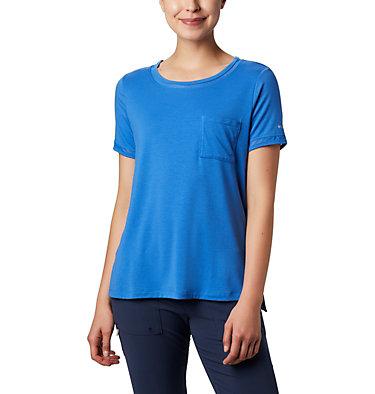 T-shirt pochette en tricot PFG Slack Water™ pour femme Slack Water™ Knit Pocket Tee | 010 | L, Stormy Blue, front