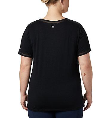 Women's PFG Slack Water™ Knit Pocket Tee – Plus Size Slack Water™ Knit Pocket Tee | 426 | 1X, Black, back