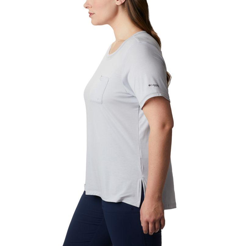 Women's PFG Slack Water™ Knit Pocket Tee – Plus Size Women's PFG Slack Water™ Knit Pocket Tee – Plus Size, a1