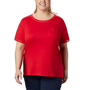 Women's PFG Slack Water™ Knit Pocket Tee – Plus Size