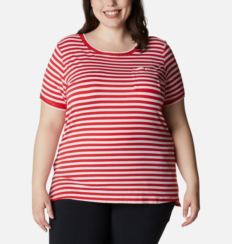 T-shirt pochette en tricot PFG Slack Water™ pour femme – Grandes tailles T-shirt pochette en tricot PFG Slack Water™ pour femme – Grandes tailles, front