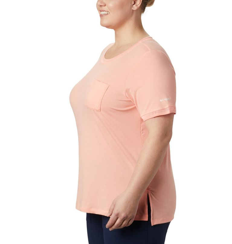 Women's PFG Slack Water™ Knit Pocket Tee – Plus Size Women's PFG Slack Water™ Knit Pocket Tee – Plus Size, a1