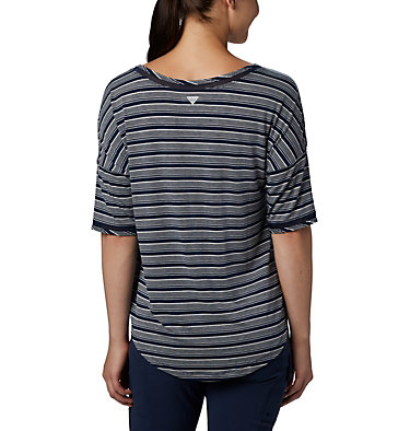 Women's Water™ Knit 3/4 Sleeve Slack Water™ Knit 3/4 Sleeve | 465 | L, Collegiate Navy Stripe, back