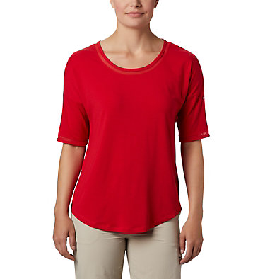 Women's Water™ Knit 3/4 Sleeve Slack Water™ Knit 3/4 Sleeve | 465 | L, Red Lily, front